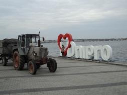 C'est pas devant I <3 Amsterdam qu'on trouverait ce tracteur